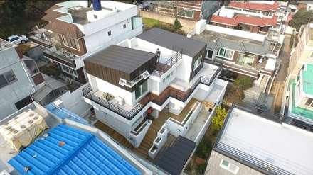 대구 주텍 인테리어 리모델링 아파트: inark [인아크 건축 설계 디자인]의  주택