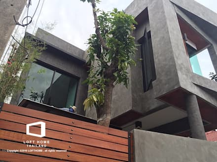 MODERN LOFT 2-STOREY HOMES:  บ้านและที่อยู่อาศัย by BEYOND HOME (THAILAND) Co.,Ltd