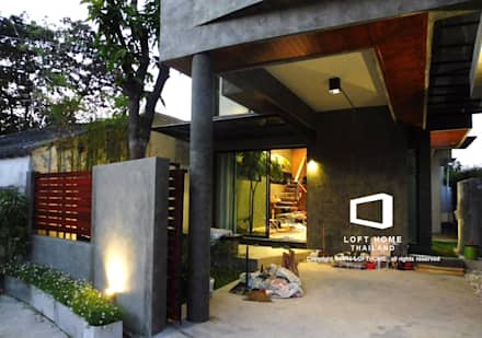 Garages de estilo moderno por BEYOND HOME (THAILAND) Co.,Ltd