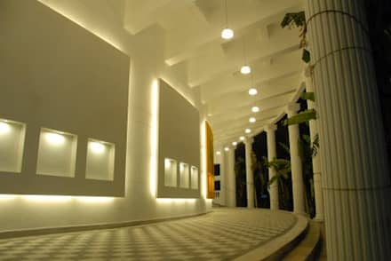 Lady Andal Auditorium:  Event venues by DA Designs