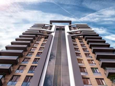 Vero Concept Architects – Teknoen Altındağ Konut: modern tarz Evler