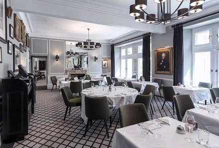 The Farmers Club Whitehall Restaurant_06:  Bars & clubs by helen hughes design studio ltd