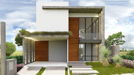 CASA COLINAS: Casas modernas por Macro Arquitetos