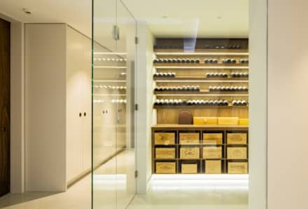 Wine cellar: modern Wine cellar by Fraher Architects Ltd