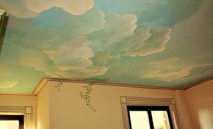 il cielo in una stanza: Giardino d'inverno in stile in stile Classico di artivisibili