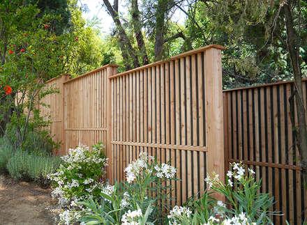 Schallschutz Limes : moderner Garten von Braun & Würfele - Holz im Garten