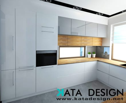 Dom w Krakowie: styl , w kategorii Kuchnia zaprojektowany przez Kata Design