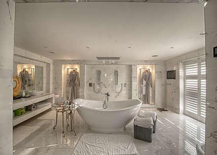 Forty Farm: modern Bathroom by Smarta