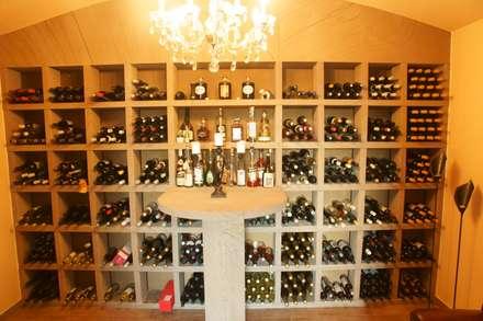 rustic Wine cellar by BOOR Bäder, Fliesen, Sanitär