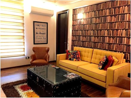eclectic Media room by homify