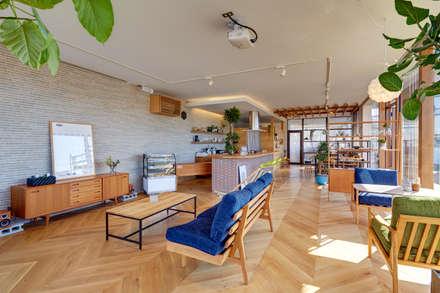 クリエ カフェ&キッチン(cRié cafe&kitchen): 青木建築設計事務所が手掛けた商業空間です。