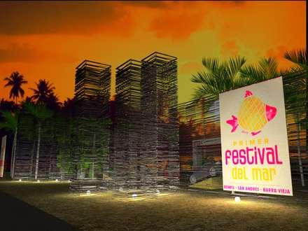 Lugares para eventos de estilo  por Bello diseño interior