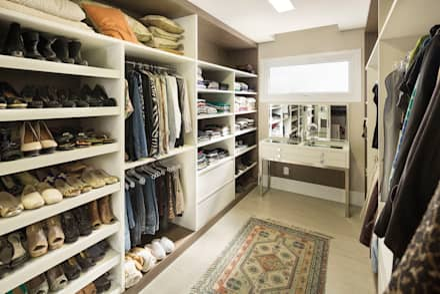 Closets clássicos por homify