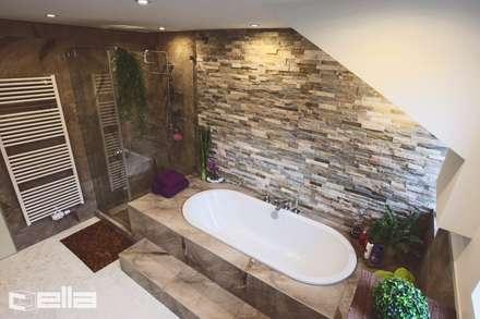 Ein Bad mit Individuellem Design München Waldperlach: moderne Badezimmer von Cella GmbH