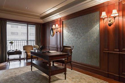 مكتب عمل أو دراسة تنفيذ 漢品室內設計