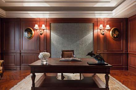 classic Study/office by 漢品室內設計