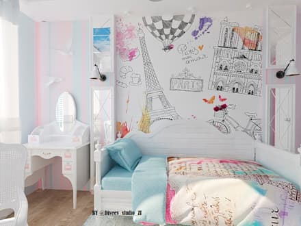 classic Nursery/kid's room by Diveev_studio#ZI