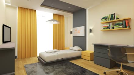 CY MİMARLIK – Çocuk Odası: modern tarz Çocuk Odası