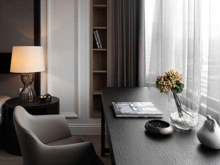 classic Study/office by 大觀室內設計工程有限公司