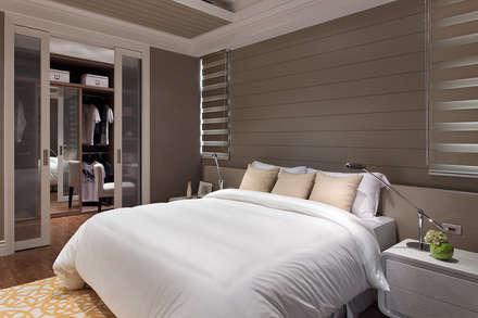 法蘭朵:  臥室 by 大觀室內設計工程有限公司