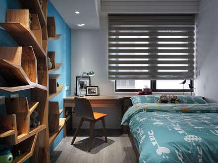 隱藏版第五房 為毛小孩打造專屬貓屋:  臥室 by 星葉室內裝修有限公司