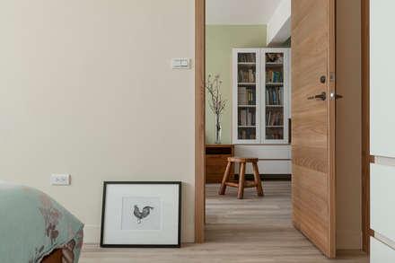 賀澤室內設計 HOZO_interior_design:  窗戶與門 by 賀澤室內設計 HOZO_interior_design
