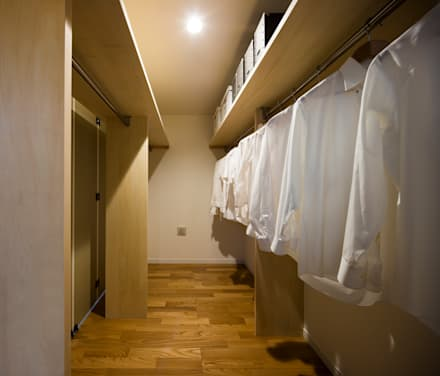 غرفة الملابس تنفيذ homify