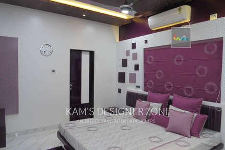 Bedroom Interior Design: modern Windows & doors by KAM'S DESIGNER ZONE