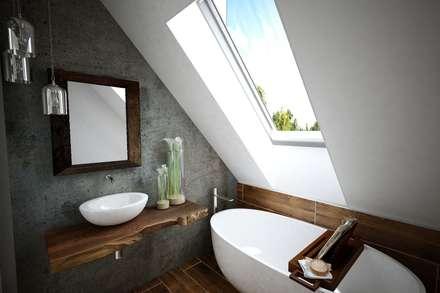 Анастасия Муравьева — проект для дома ТехноНИКОЛЬ: Ванные комнаты в . Автор – Open Village