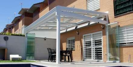 Techo Móviles: Terrazas de estilo  de Fraimar Aluminios S.L.