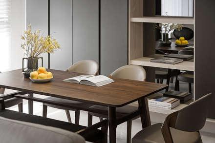 賀澤室內設計 HOZO_interior_design:  書房/辦公室 by 賀澤室內設計 HOZO_interior_design