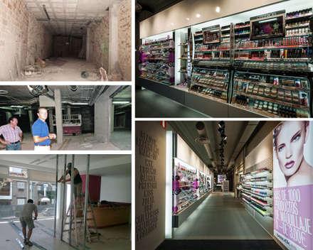 Local comercial: Centros Comerciales de estilo  por PLANETARK ARQUITECTOS