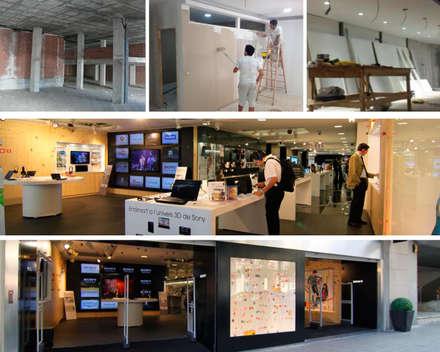 : Centros Comerciales de estilo  por PLANETARK ARQUITECTOS