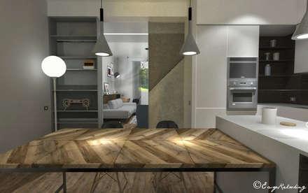 Keuken design idee n inspiratie en foto 39 s homify - Relooking trap ...