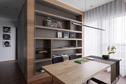 eclectic Study/office by 賀澤室內設計 HOZO_interior_design