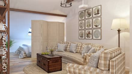 colonial Nursery/kid's room by Loft&Home