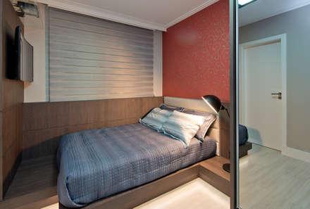 moderne Schlafzimmer von Kris Bristot Arquitetura