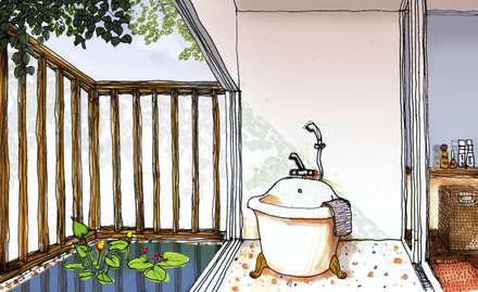 那須高原コミュニティーヴィレッジ: 羽鳥建築設計室が手掛けたスパです。