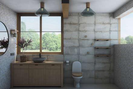 Волга: Ванные комнаты в . Автор – Artcrafts