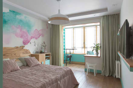 tropical Bedroom by Artcrafts