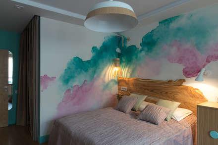 Акварель: Спальни в . Автор – Artcrafts