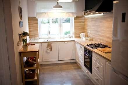 eclectic Kitchen by Goryjewska.Górnisiewicz