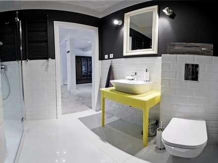 eclectic Bathroom by Goryjewska.Górnisiewicz