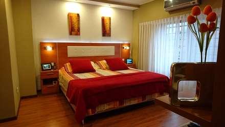 Terminado: Dormitorios de estilo moderno por Himis, Habis y Haim