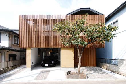 บ้านและที่อยู่อาศัย by 藤井伸介建築設計室