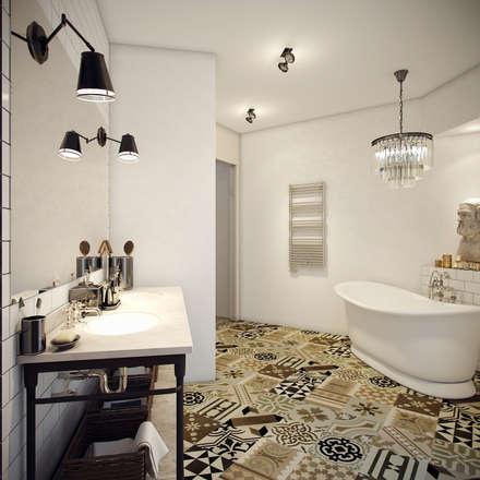Ванная: Ванные комнаты в . Автор – Студия дизайна интерьера ART-Labs