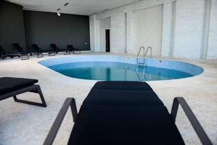 SPA de l'Hotel Farah 5*- 657m² - Tanger, Maroc : Spa de style de style Scandinave par ARCanges Design