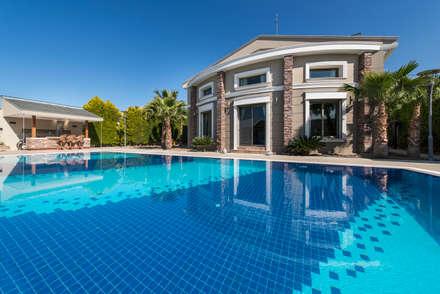 Mimode Mimarlık/Architecture – SAHİLEVLERİ VİLLA Ş.K. :  tarz Havuz