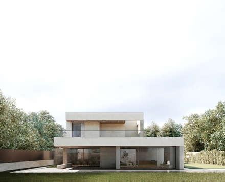Moradia Unifamiliar Bicuda L3|4: Habitações  por MARQA - Mello Arquitetos Associados