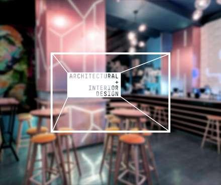 ARCHITECTURAL + INTERIOR DESIGN:  Bars & clubs by 3 FINGERS DESIGN STUDIO
